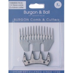Burgon & Ball Comb & Cutters Pack