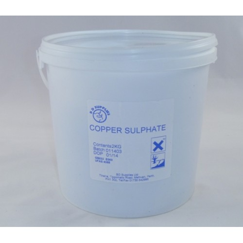 Sundries Copper Sulphate 2kg